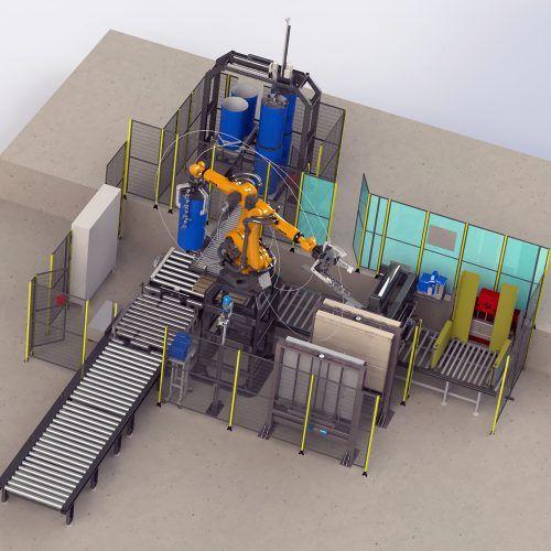 Proyectos personalizados de automatización industrial
