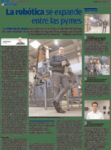 Levante el mercantil Valenciano Rivas Robotics: La Robótica se expande entre las Pymes