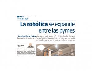 La Robótica se expande entre las Pymes