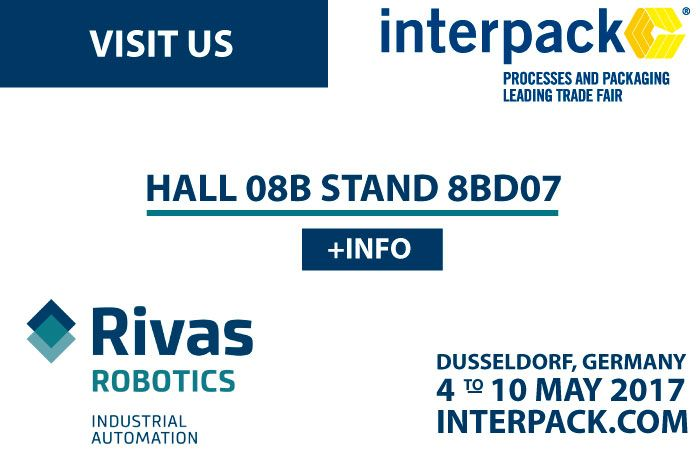 We will be in INTERPACK, 4-10 MAY 2017, DUSSELDORF-GERMANY