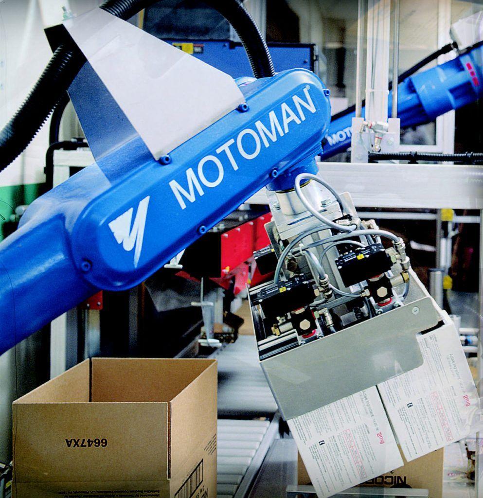 Robotización industrial