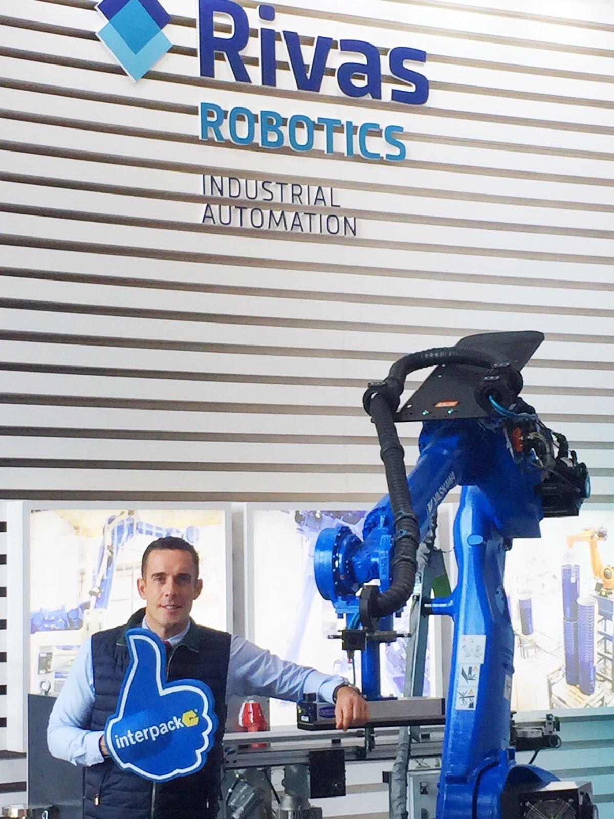 Rivas Robotics refuerza la consolidación de las relaciones comerciales con sus distribuidores en Interpack 2017