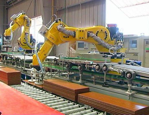Robot manipulador de productos
