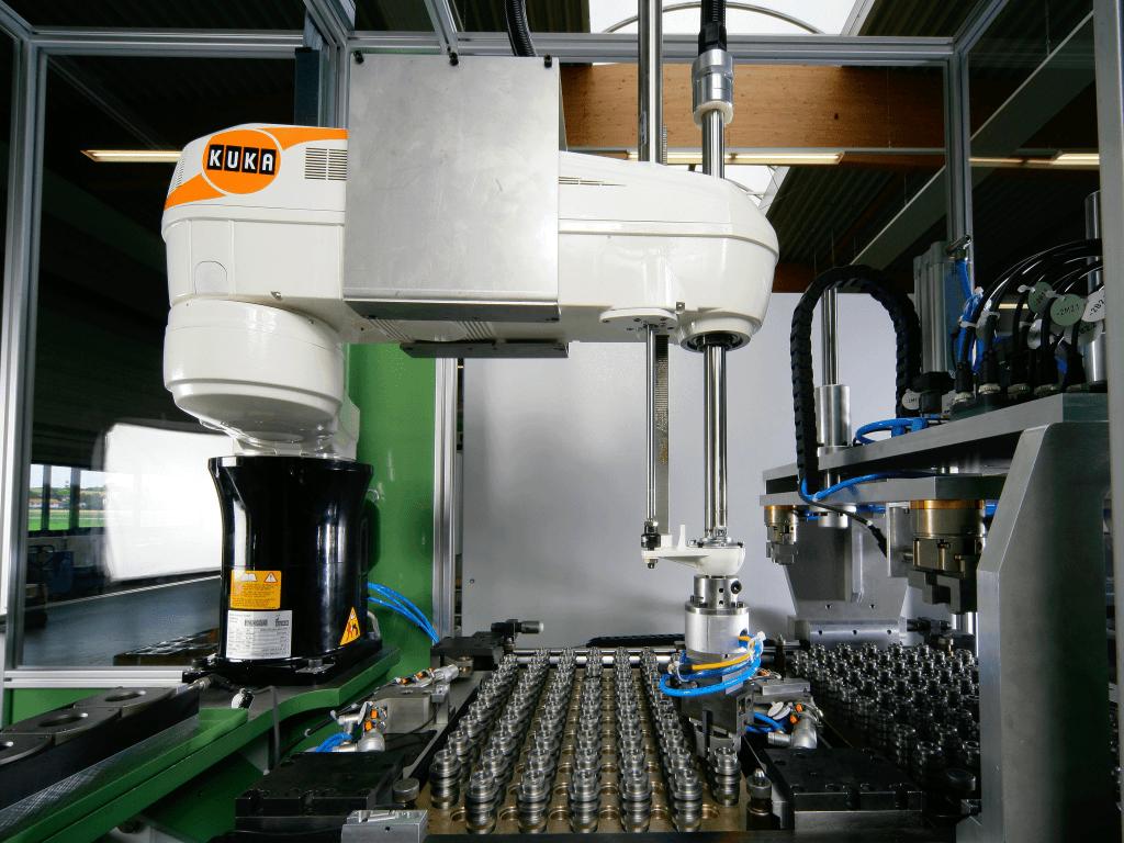 Robot para manipular productos