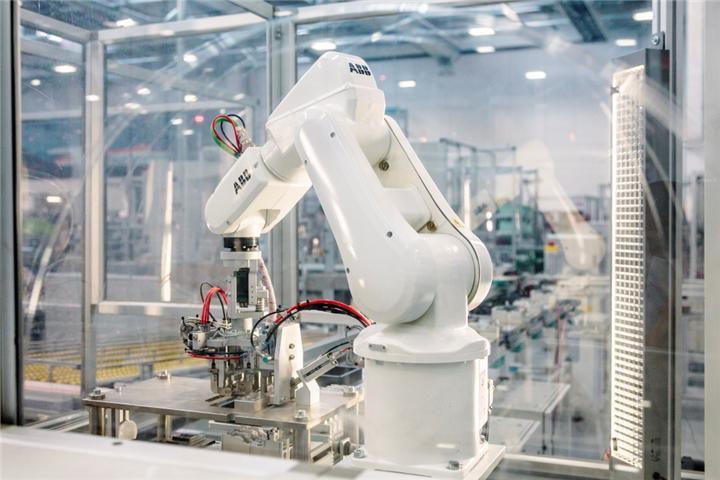 Robots para manufactura