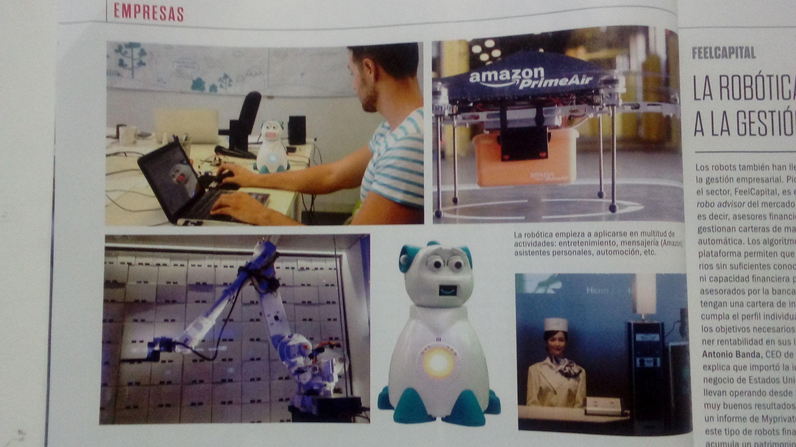 Usos de la robótica en imágenes