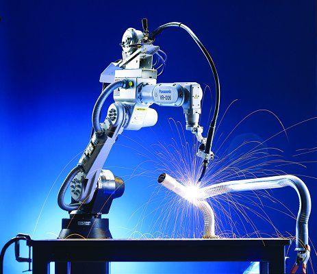 Robot industrial soldador