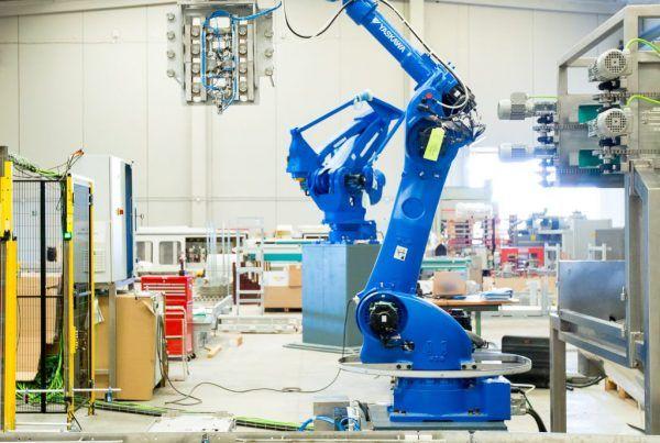 Tipos de robots industriales