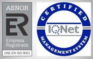 Sello Calidad AENOR ISO 9001