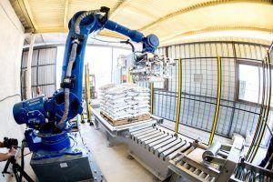 Qué es un robot industrial