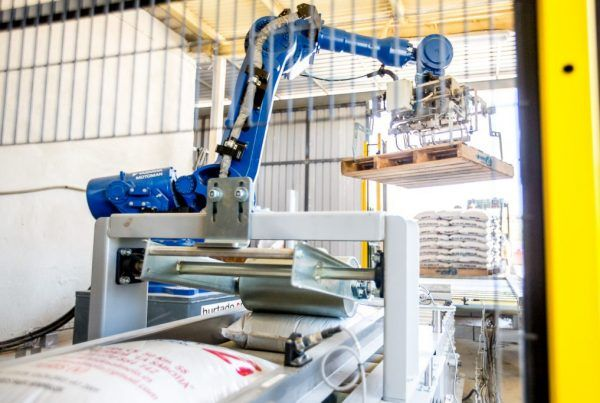Robot de despaletizado