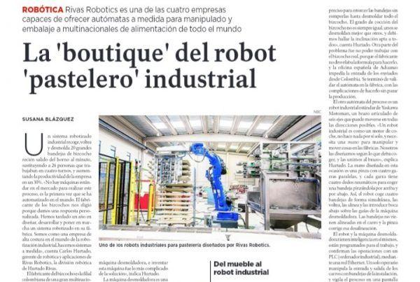 Innvovadores La Razón Rivas Robotics